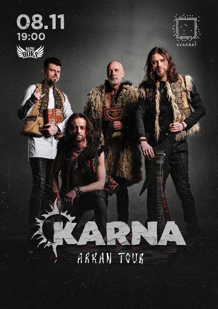 KARNA. Arkan tour