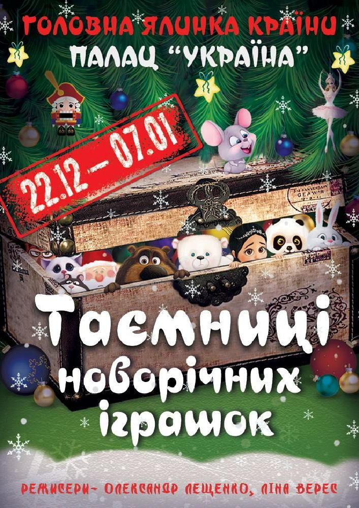 Таємниці Новорічних іграшок