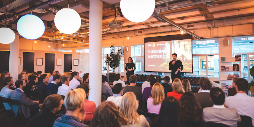 KPMG platform event