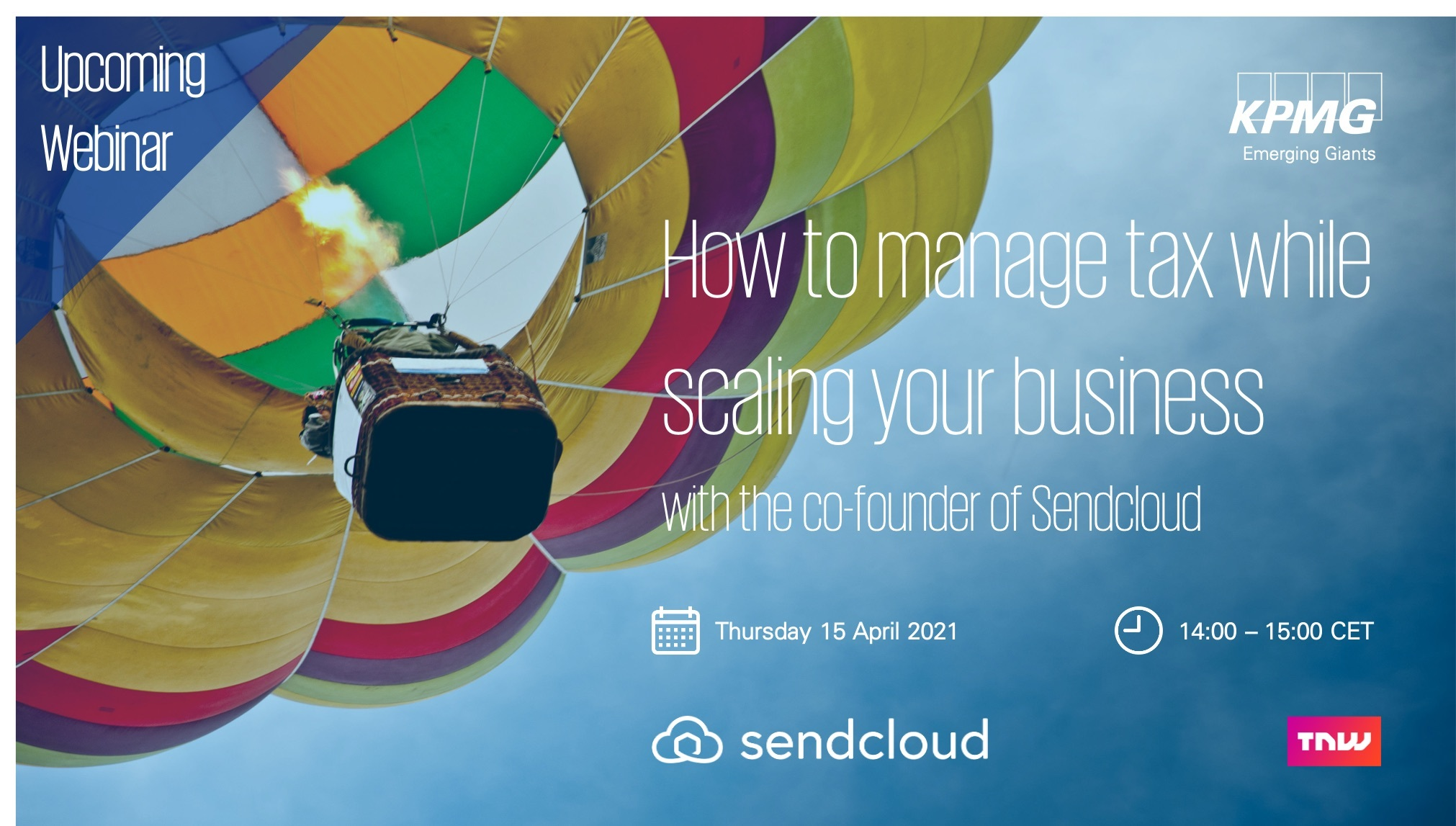 How to manage tax while scaling your business with KPMG and Sendcloud