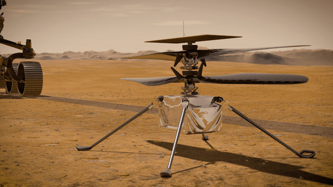 NASA just made history by flying an autonomous helicopter on Mars