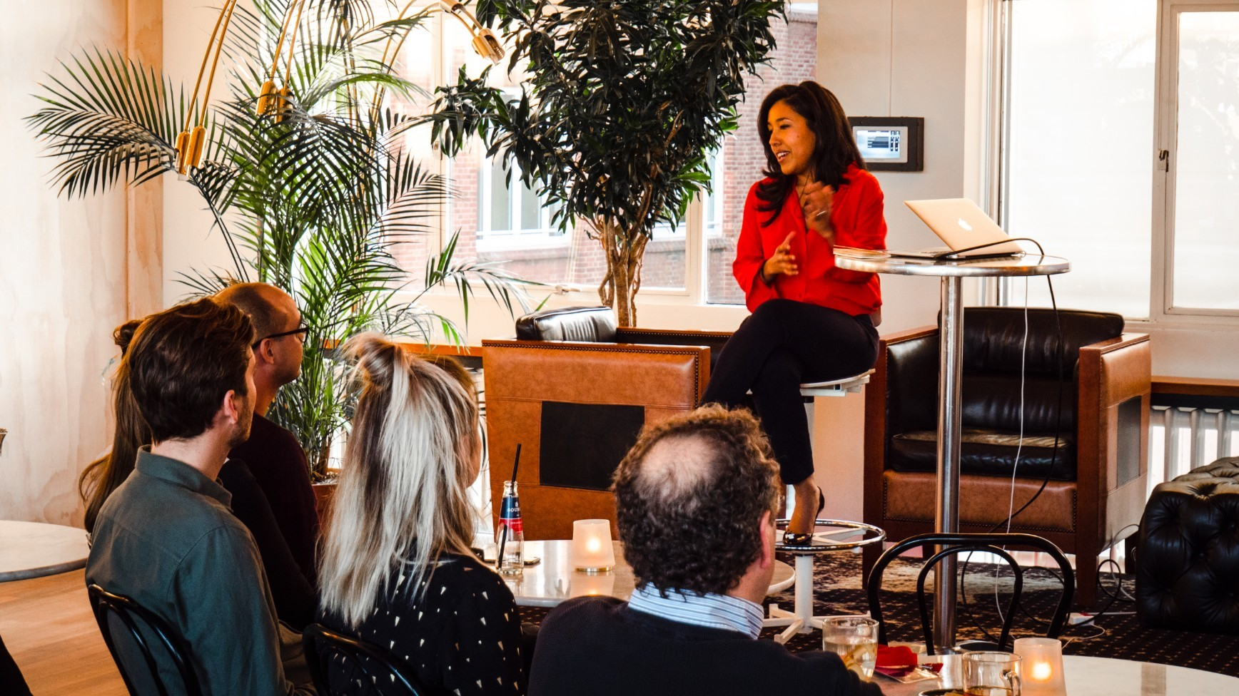 Founder Fireside: growing a company from a female perspective
