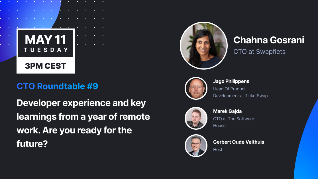 CTO Roundtable #9