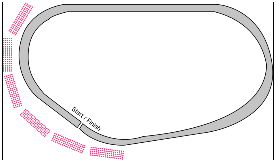 Reserved Seats for Tracks and Raceways