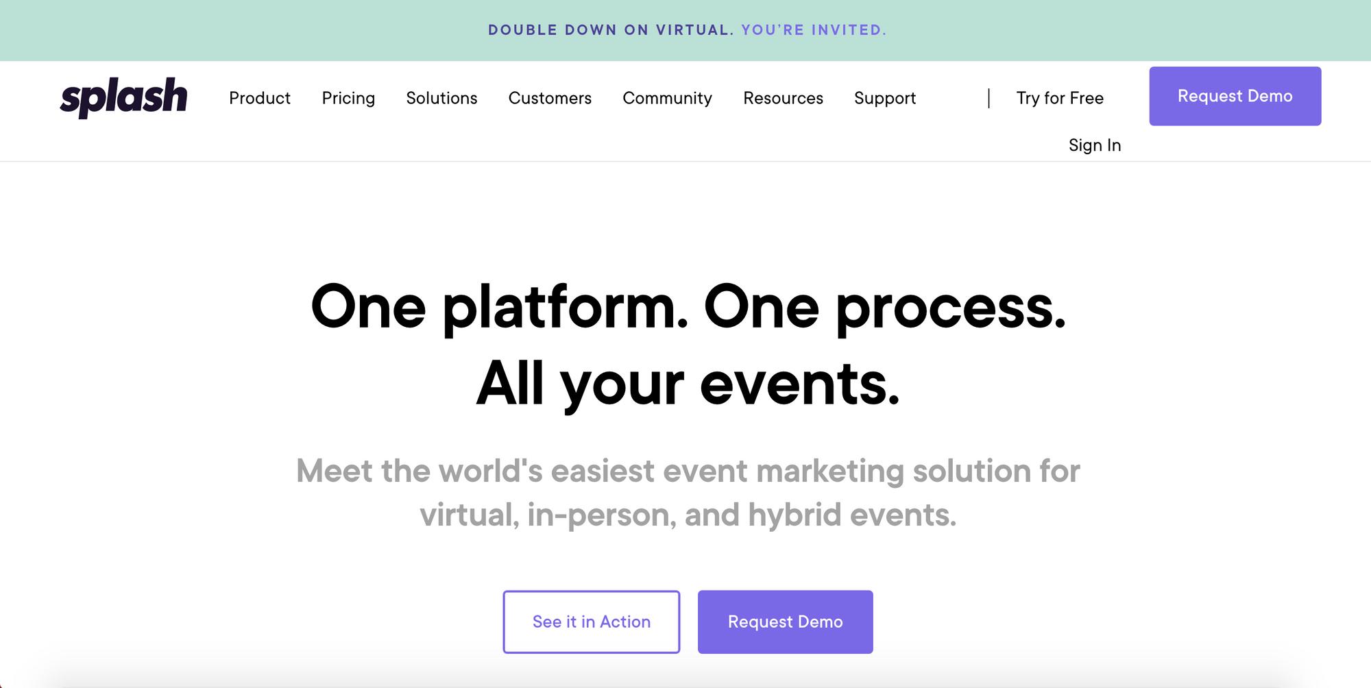 Splash Event Management Platform - Top Eventbrite Alternative