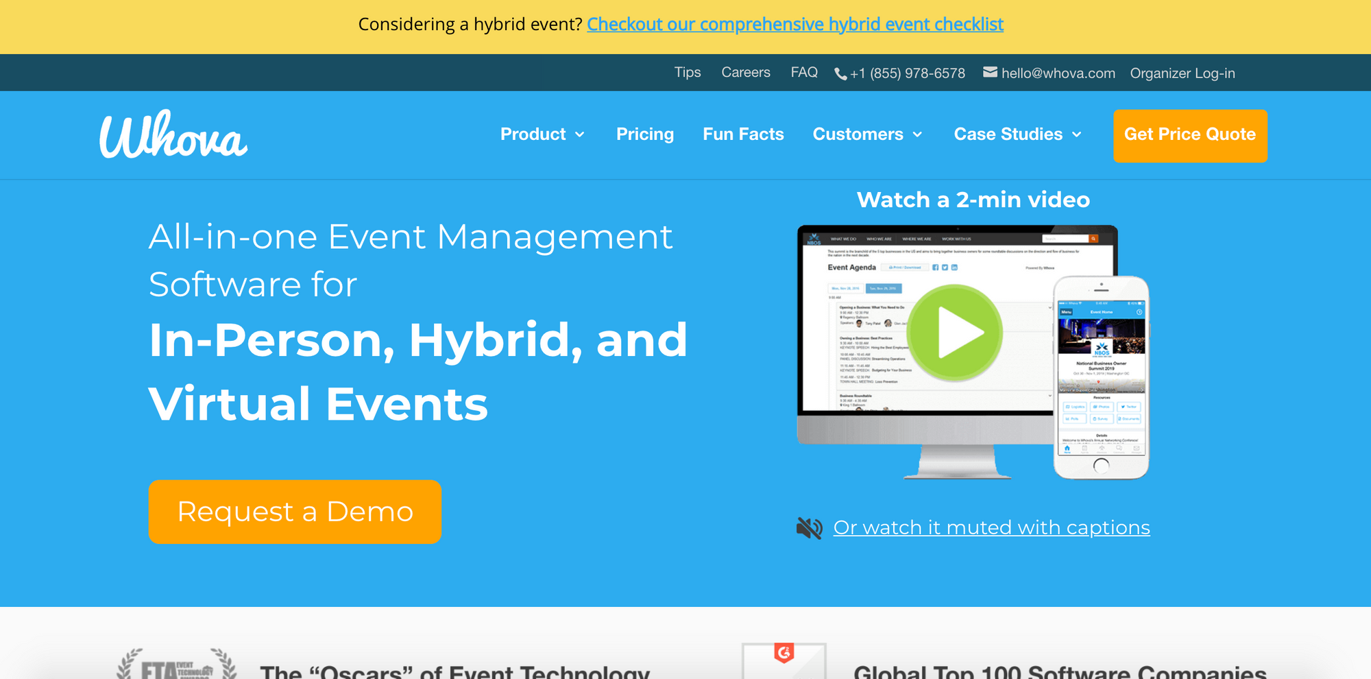 Whova - Best Virtual Conference Platforms via EventSprout