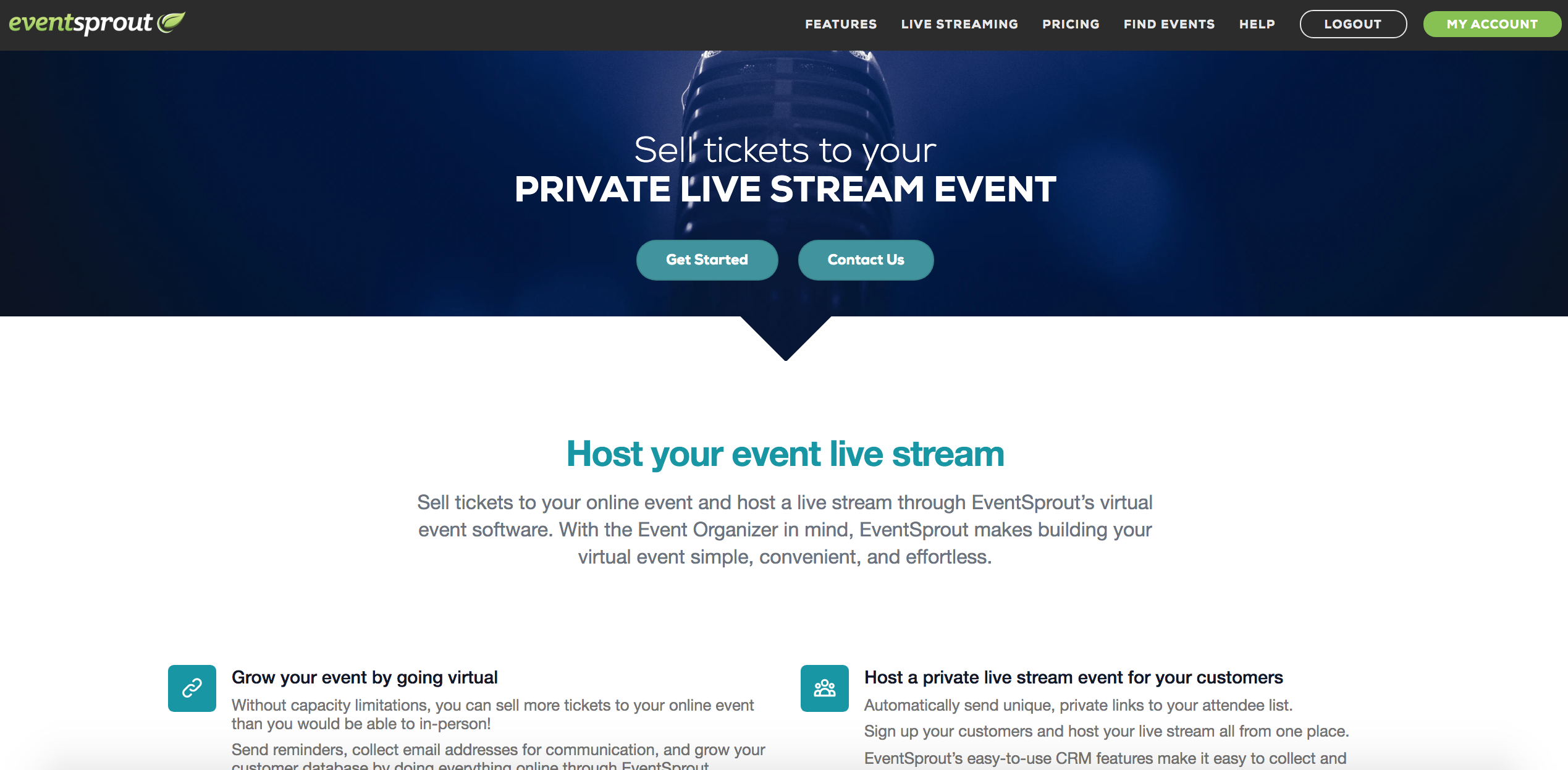 EventSprout - Best Virtual Conference Platforms via EventSprout