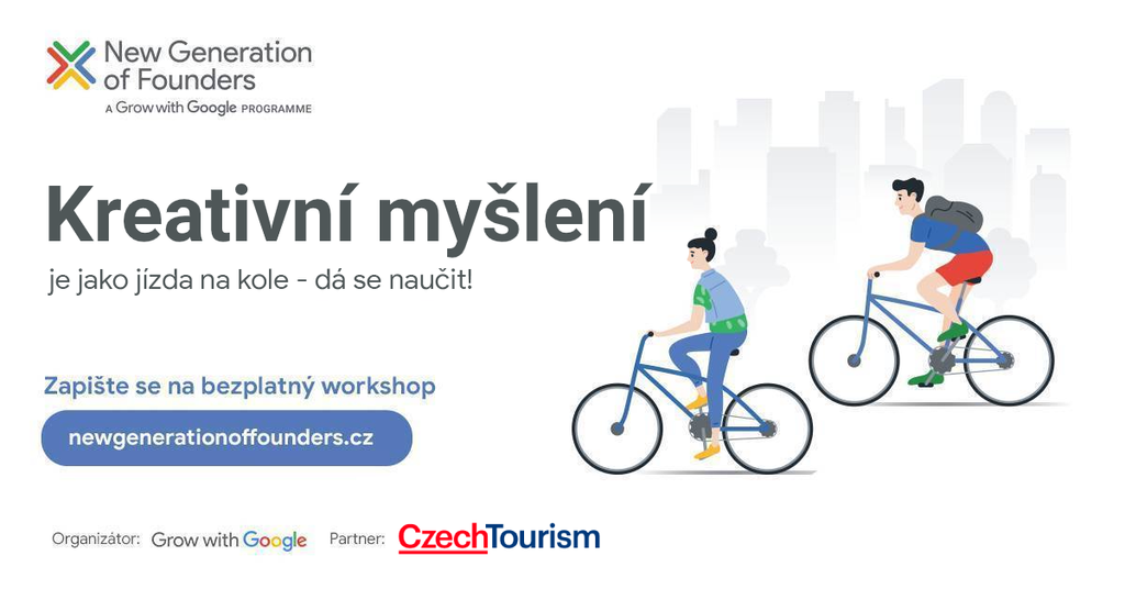 Metoda Design Thinking - Online workshop New Generation of Founders