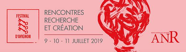 Header_rencontres recherches et création - 9 au 11 juillet 2019