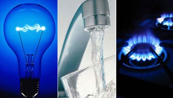 Luz agua gas 0316