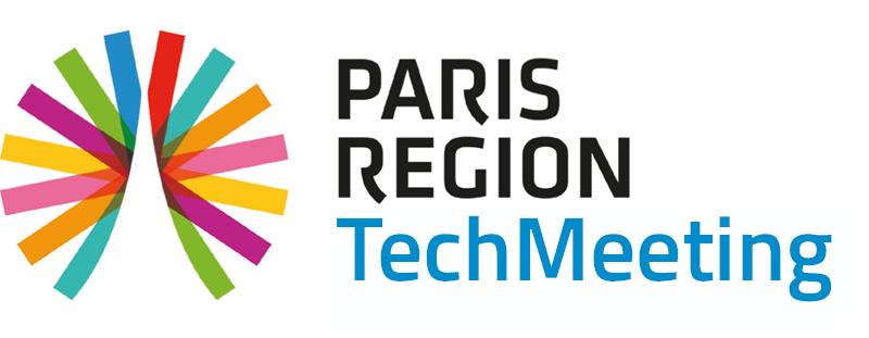 Techmeeting logo bleu