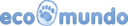 Logo ecomundo bleu cmjn 300dpi