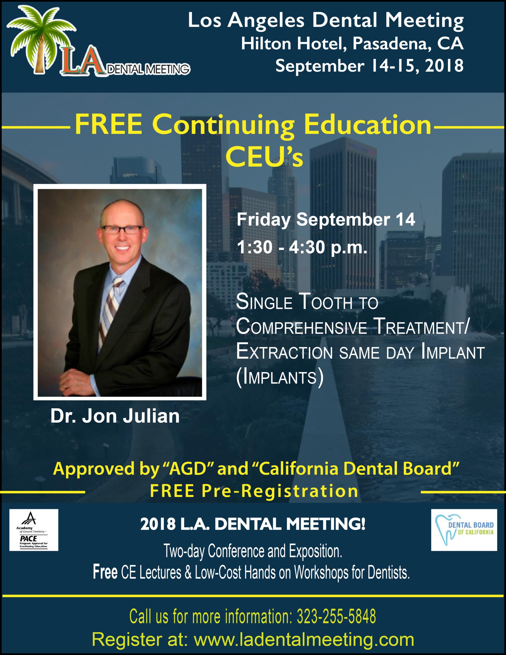LA Dental Meeting 2018