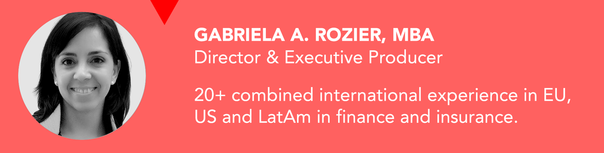 Gabriela Rozier, Director EVENET