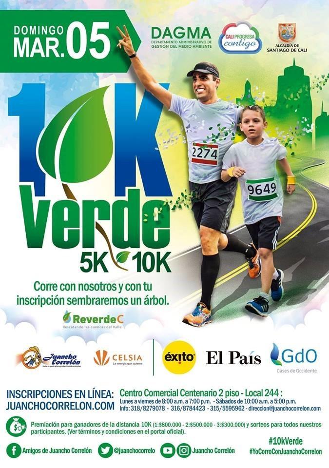 Juancho Correlón 5K 10K Verde