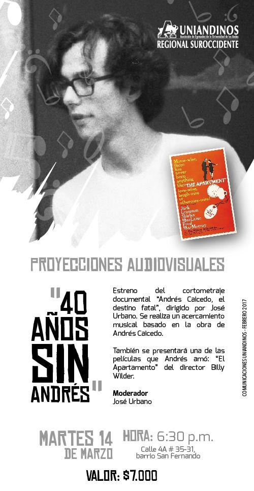 40 años sin Andrés