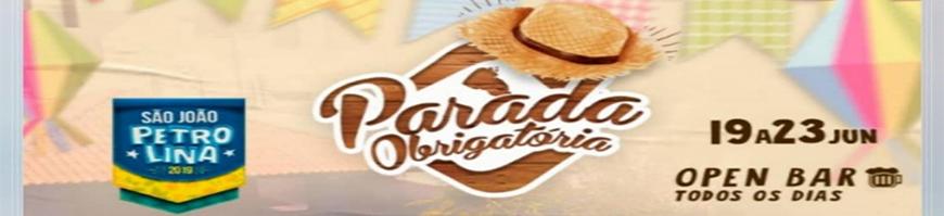 PARADA OBRIGATORIA EM PETROLINA