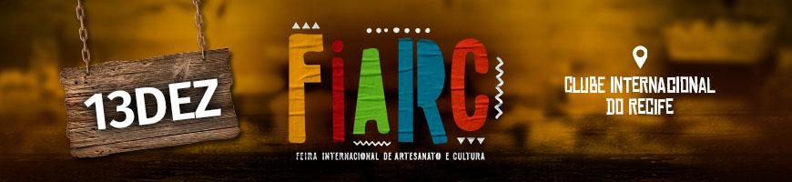 FIARC DIA 13 - FEIRA INTERNACIONAL DE ARTESANATO E CULTURA
