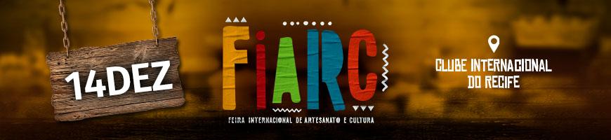 FIARC DIA 14 - FEIRA INTERNACIONAL DE ARTESANATO E CULTURA
