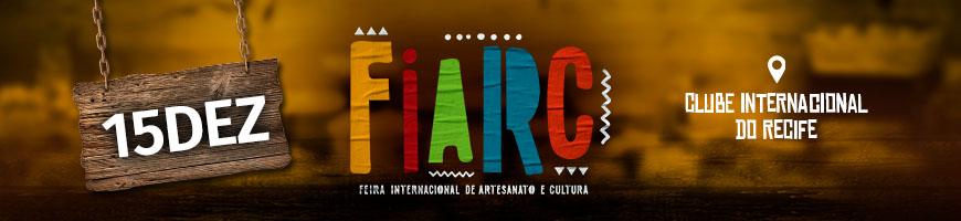 FIARC DIA 15 - FEIRA INTERNACIONAL DE ARTESANATO E CULTURA