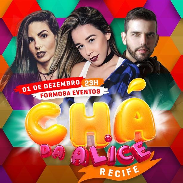 CHÁ DA ALICE EM RECIFE
