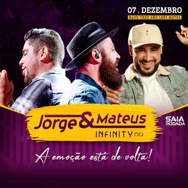 JORGE & MATEUS INFINITY EM SÃO LUIZ