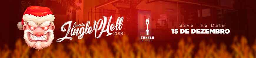 CANELA JINGLE HELL RECIFE