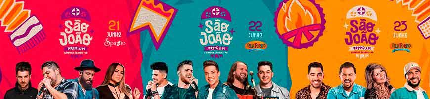 SÃO JOÃO DE CAMPINA GRANDE NO SPAZZIO E VILA FORRÓ