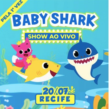 BABY SHARK RECIFE