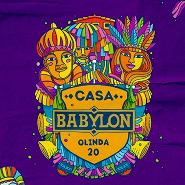 CASA BABYLON NO CARNAVAL DE OLINDA