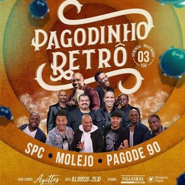 PAGODINHO RETRÔ