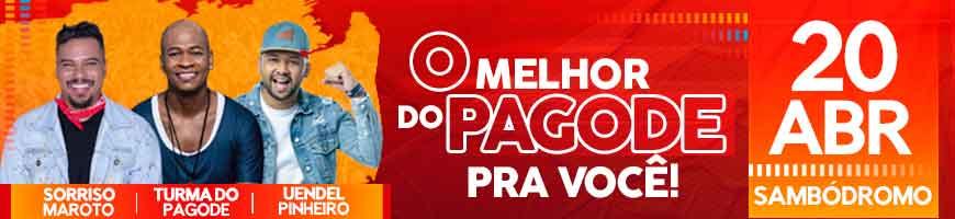 O MELHOR DO PAGODE EM MANAUS