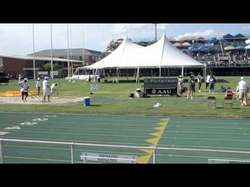 Nikka jumping 44' at the AAU Junior Olympics, placing 5th (2010)
