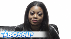"Destiny Jones' interview on                               Bossip                              ​; she talks about Nas' Song ""Daughters"", celebrity friends, and                                                Love & Hip Hop"