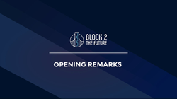 Kurt Kumar's opening remarks at Block 2 the Future (2018)