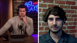 Josh Constine is interviewed by                               Steven Crowder                              ​; they have a debate about free speech