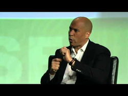 Josh Constine's interview with                               Cory Booker                              ​ at                               TechCrunch Disrupt                              ​
