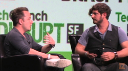 Josh Constine interviews                               Dropbox                              ​ CEO                               Drew Houston