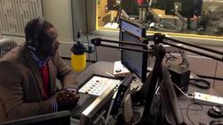 Akwasi Sarpong's Focus on Africa 'front page'