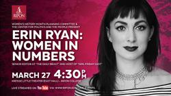 Erin Ryan: Women in Numbers Keynote Address