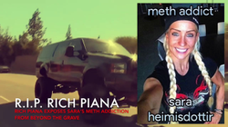 Leaked conversation where Rich Piana talks about her doing meth and stealing money from him to give to a meth dealer