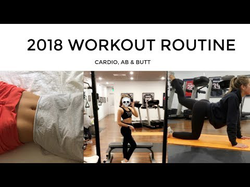 WORKOUT ROUTINE 2018 | get fit with me for the new year!