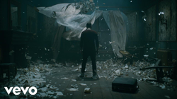 "The                               Eminem                              ​ music video for the song, ""River"" in which                               Sarati                              is featured as the main subject/character."