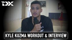 Kyle Kuzma NBA Pre-Draft Workout and Interview