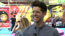 Hunter March at                               Sony Pictures                              ' world premiere of the                                                The Emoji Movie                                