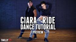 Jojo Gomez - Ride - Dance Tutorial [Preview] - #TMillyTV