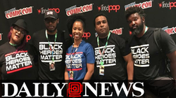 Black Heroes Matter: A t-shirt that started a movement - New York Daily News (2017)