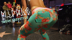 "Lexy Panterra's ""Middle"" twerk music video"