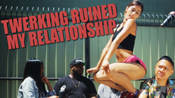 "Lexy Panterra featured in TimothyDeLaGhetto 's YouTube video, ""Twerking Ruined My Relationship"""