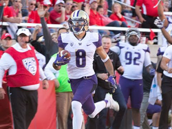Dante Pettis (Washington WR) vs Washington State 2016